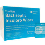 Bactiseptic incoloro wipes